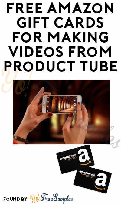 Free Amazon Gift Cards From Producttube Email Verification
