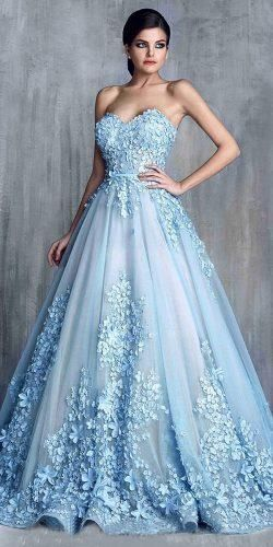 24 Amazing Colourful Wedding Dresses For Non Traditional Bride Puffy Prom Dresses Ball Gowns Wedding Ball Gown Wedding Dress