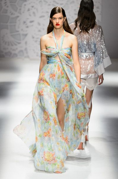 Blumarine, Spring 2018 - Milan's Most Fabulous Dresses for Spring 2018 - Photos
