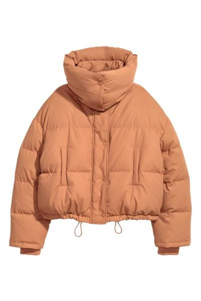 666751c27 Short down jacket in 2019 | clothes | Fashion, Jackets, Puffer jackets