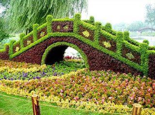 صور طبيعة خلابة مناظر اشجار جميلة جنان خلفيات طبيعية صور اشجار جنان Topiary Garden Gardens Of The World Beautiful Gardens