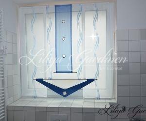 Badezimmer Gardinen Nach Mass Kaufen Fensterdeko Furs Bad In 2020 Gardinen Modern Bad Gardinen Badezimmer
