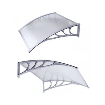Pa Series Convex Door Awning In 2020 Door Awnings Window Awnings Polycarbonate Roof Panels