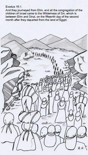 The Israelites In The Wilderness Israelites Wilderness