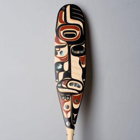 639 Best Northwest Native Paddles images | Native art