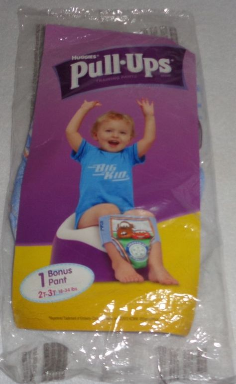 48ct Huggies Pull Ups Night Time Training Pants for Girls 3T 4T 2pk