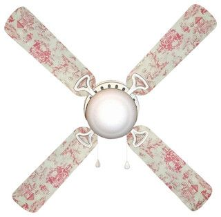 42 Inch 4 Blade Ceiling Fan With A Dome Lamp Kit That Comes With