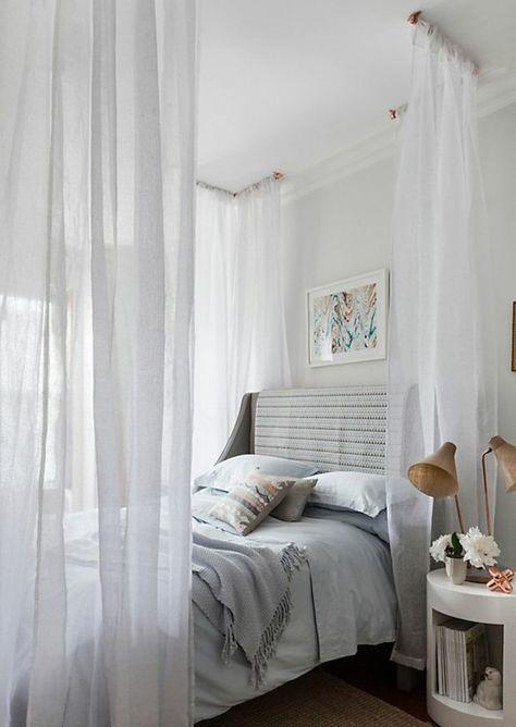 himmelbetten himmelbett vorhang schlafzimmer einrichten WOHNEN - vorhang schlafzimmer modern