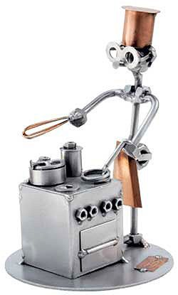 cooking in the kitchen.  .......fobot