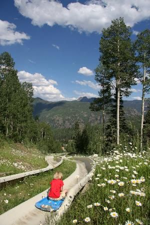 Alpine Slide at Durango Mountain Resort