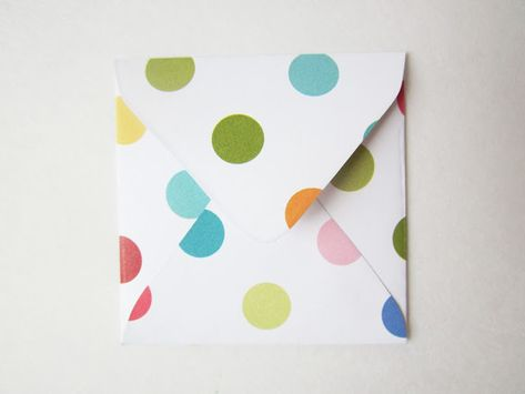 Free Printable Mini Envelope Template and Liners - Such a Card - small envelope template