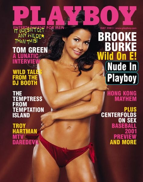 Playboy magazine cover May 2001