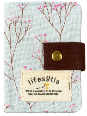 Canvas Credit Card Case Bag Holder With 20 Card Slot Only 4 98 Shipped Credit Card Cases Cards Bag Holder