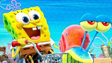 Protect Spongebob & Gary! Clip - THE SPONGEBOB MOVIE: SPONGE ON THE RUN (2021)