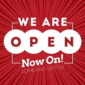 We Are Open Back To Business Design Advertising Open Opening Png Transparent Clipart Image And Psd File For Free Download Business Design Education Stationery Back To School Art