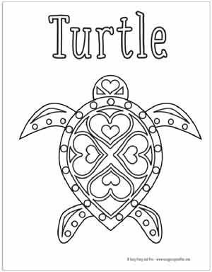 Summer Coloring Pages Free Printable Summer Coloring Pages Turtle Coloring Pages Coloring Pages
