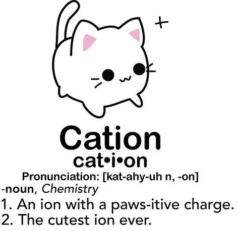 Science jokes biology puns chemistry cat Ideas for 2019