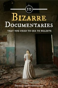 15 Weird Documentaries that are Truly Stranger than Fiction These weird documentaries are definitely the most bizarre films you will ever see! True crime, love gone wrong, and cults all make an appearance on this awesome documentary list! Good Documentaries To Watch, Scary Documentaries, Netflix Movies To Watch, Good Movies To Watch, Most Interesting Documentaries, Health Documentaries, Things To Watch, Fashion Documentaries, Netflix Tv
