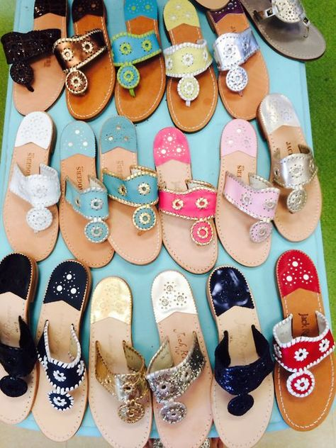 world's best sandals. jack rogers match everything