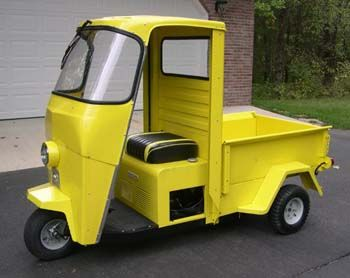 Trucksters Retro Scooter Electric Motor For Car Motorized Tricycle