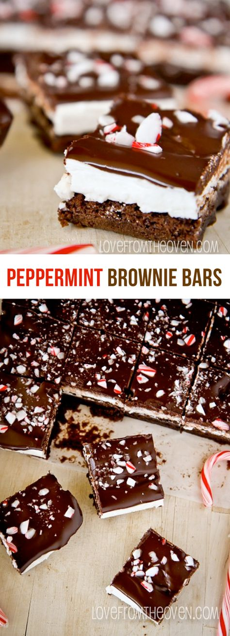 If you like the combo of chocolate and peppermint, you are going to love these delicious bars. Three delicious layers, but super easy to make. A must make Christmas recipe.
