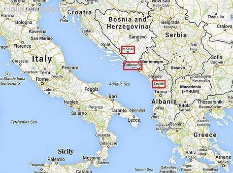 Resultado De Imagem Para Mapa Italia E Grecia