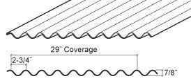 Corrugated Panel Mueller Inc Metal Roof Corrugated Paneling