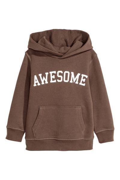 1fd4efd8 Printed Hooded Sweatshirt   Baby stuff   Hooded sweatshirts ...