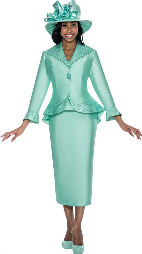 c3a67eed3fe GMI G5743 Mint Womens Church Suits - Divine Church Suits