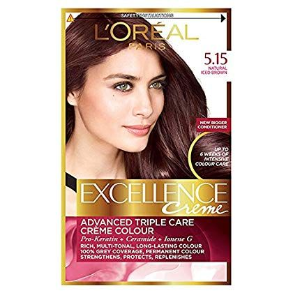 Loreal Excellence Creme Haircolor Iced Brown 5 15 Want