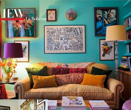 Bohemian Style Living Room florence welch's bohemian style | keith haring, bohemian style and