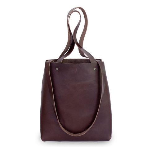 678d74eb76 Large Brown Leather Tote Bag - Brown Leather Travel Bag - Leather Market bag