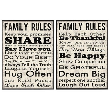 Pin By Yuri Roper On Out And About Family Rules Quotes Words
