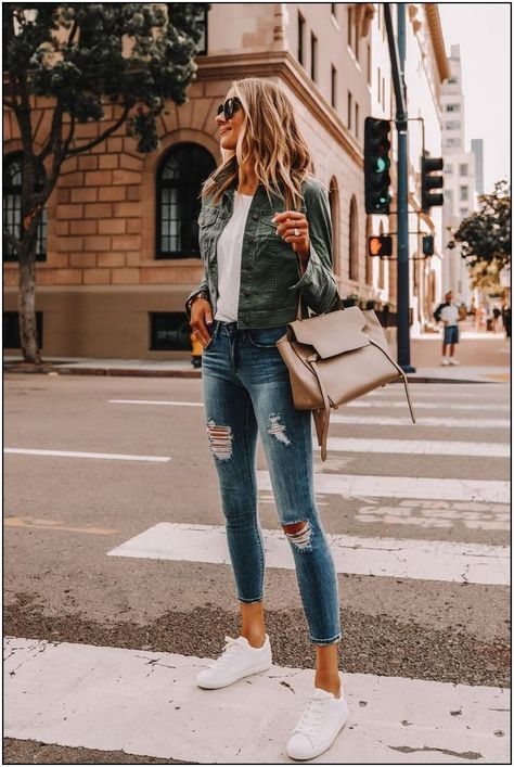 Walmart Outfits, Fall Winter Outfits, Spring Outfits, Jacket Outfit, Outfit Jeans, Shirt Outfit, Pijamas Women, Green Utility Jacket, Green Jacket