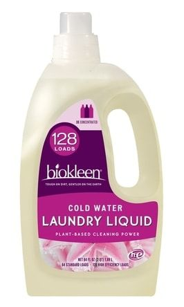 Laundry Liquid Cold Water 64 Fl Oz Natural Laundry Detergent