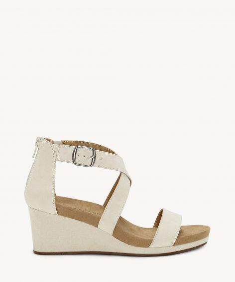 lucky brand kenadee suede wedge sandals