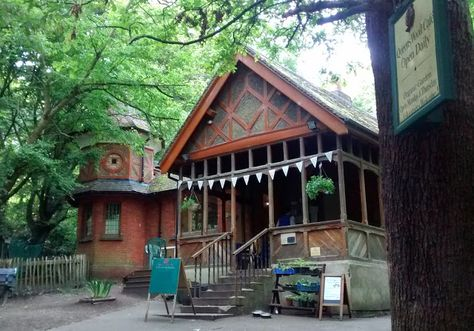 Queen's Wood Cafe, Muswell Hill, London