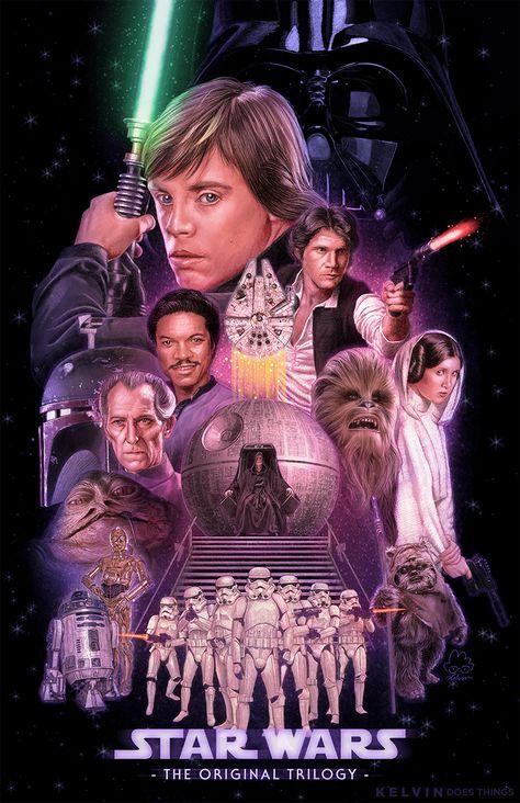 Star Wars: The Original Trilogy by kelvin8 on DeviantArt