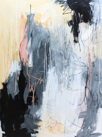 Kunstsamlingen Art Experienced Artist Bettina Holst Kaffedate 120 X 90 Cm See The Artwork Here I 2020 Abstrakt Kunst Kunstnere Kunst Ideer