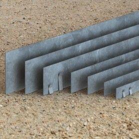 gamme de bordures de separation macadam