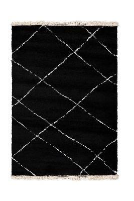 tapis fes noir 160x230 decoration
