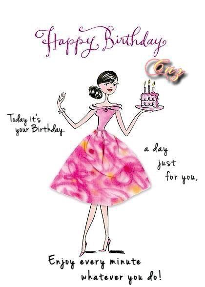 Pin By Jessica Frisbie On Birthday With Images Happy Birthday Wishes Cards Happy Birthday Girls Happy Birthday Greetings