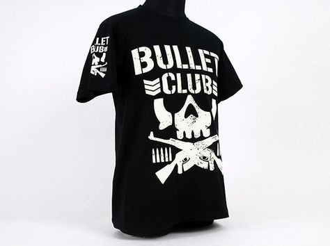 1d47876d2a765 New Japan Pro-Wrestling Bullet Club Bone Soldier T-shirt. Sold at  ProWrestlingTees.com