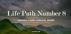 Life Path Number 8 in Numerology: Personality, Love, Career #numerology #lifepathnumber #lifepathnumber8 #numerologychart