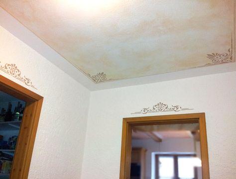 Maler Maicher - Fassaden, Wand, Innenraum, Anstrich in Rosenheim, Griesstätt und Wasserburg Schablonier- und Tupftechnik