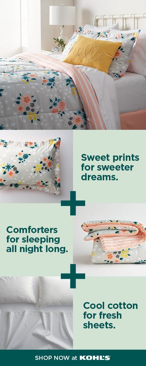 Find Bedroom Decor At Kohl S Your Favorite Brands Have New