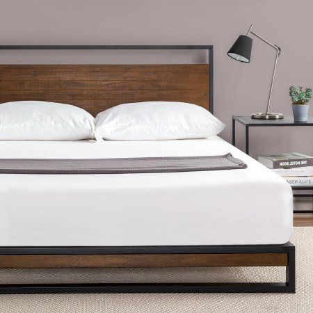 Free Shipping Buy Zinus Ironline Platform Bed Multiple Sizes At