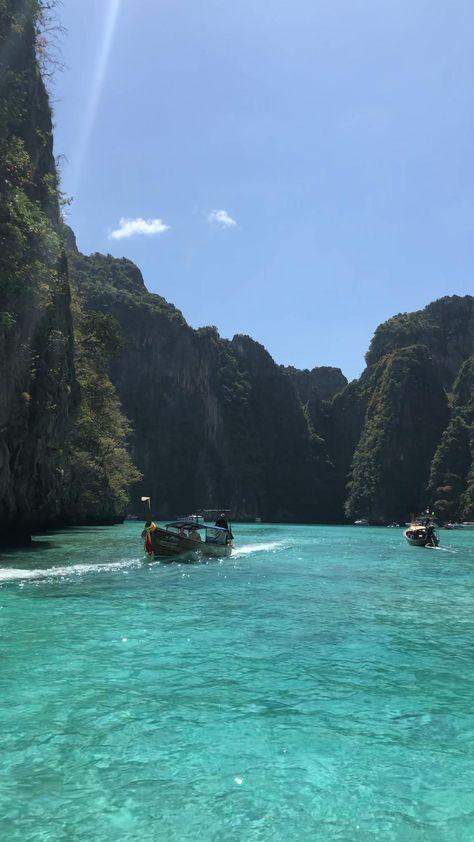 Koh Phi Phi Pileh Lagoon Thailand