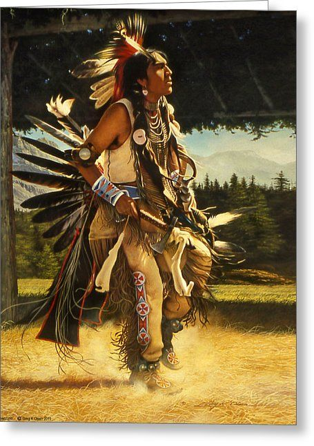 Dance Of His Fathers Acrylic Print by Greg Olsen. All acrylic prints are professionally printed, packaged, and shipped within 3 - 4 business days and delivered ready-to-hang on your wall.