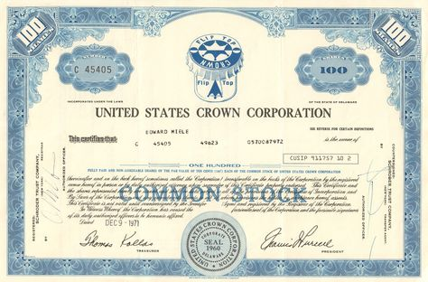 1060 Best Old Stock Certificates Images On Pinterest Certificate   Printable  Stock Certificates  Printable Stock Certificates